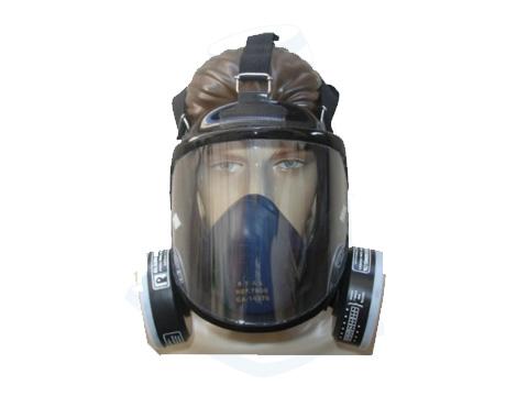 7251bea90618d Máscara real com 2 cartucho modelo panoramica fechada ampla visao