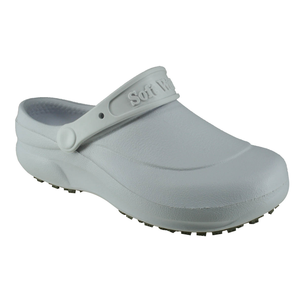 8a28bcae6f Sapato em EVA babuch modelo bb60 branco tipo sandalia soft works